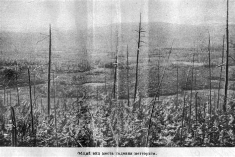 The mysterious Tunguska event occurred on June 30, 1908