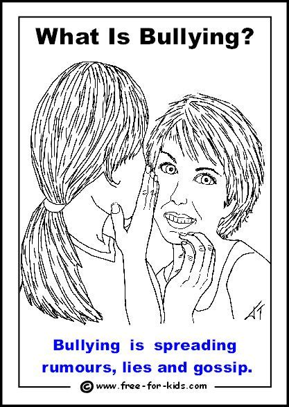 Spreading rumours is a form of bullying | Spreading rumors